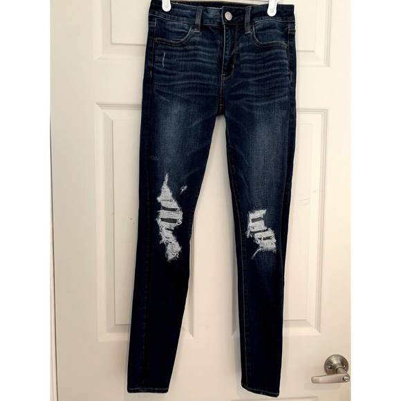 American Eagle jeans: 360 Next Level Stretch